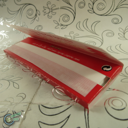 10 packets zigzag zig zag king size cigarette tobacco rolling paper papers red ebay. Black Bedroom Furniture Sets. Home Design Ideas