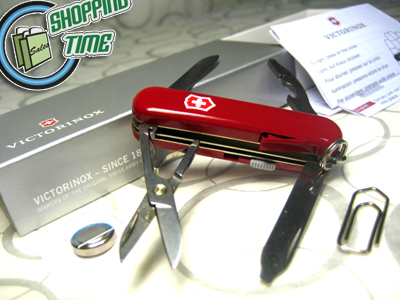 【v06366】victorinox Swiss Army Knife 58mm Midnite Manager